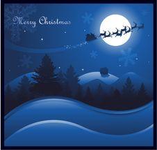 Free Blue Christmas Background Royalty Free Stock Image - 16873336