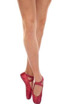 Free Legs On Ball Stock Image - 16873551