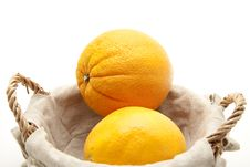 Free Oranges In The Basket Royalty Free Stock Images - 16873929