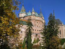 Free Castle Bojnice Royalty Free Stock Photography - 16874067