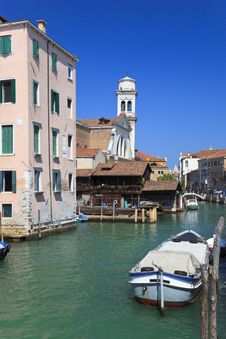 Free Canal In Venice, Italy Stock Photography - 16874632