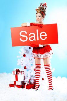 Free Big Sale Royalty Free Stock Image - 16876336