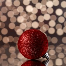 Free Xmas Balls Stock Photography - 16876862