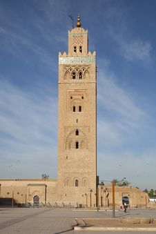 Free Koutoubia Mosque Royalty Free Stock Photo - 16877175