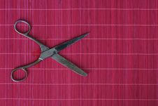 Free Old Hair Scissors Royalty Free Stock Images - 16877829