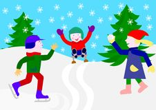 Free Winter Games Stock Images - 16877964
