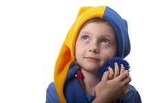 Little Gnome Royalty Free Stock Photos