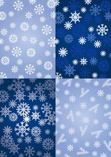 Free Background Snowflakes Stock Image - 16878161
