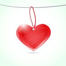 Free Red Heart Stock Photo - 16878950