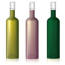 Free Multicolored Bottle Samples Stock Photo - 16879140