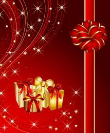 Free Christmas Present Background Stock Images - 16879184