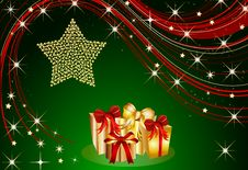 Free Christmas Present Background Stock Photography - 16879212