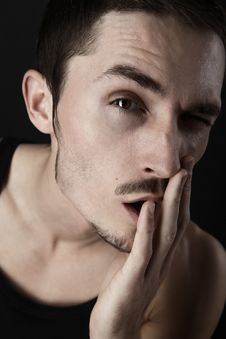 Free Young Man S Portrait. Stock Photo - 16879730