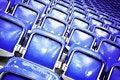 Free Empty Stadium Seats Royalty Free Stock Images - 16881219