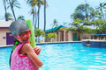 Free Little Girl And Pool Royalty Free Stock Photos - 16882298