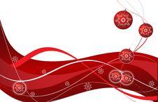 Free Christmas Balls Royalty Free Stock Image - 16880836