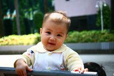 Free Smiling Baby Girl Stock Photos - 16881103
