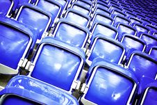 Free Empty Stadium Seats Royalty Free Stock Images - 16881219