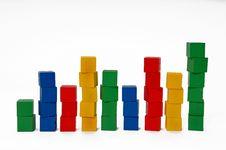 Free Columns Of Blocks Royalty Free Stock Photos - 16881548