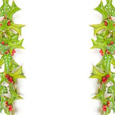Free Christmas Green Frame With Studio Shot Royalty Free Stock Photo - 16882215