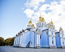 Free Saint Michael S Cathedral In Kiev, Royalty Free Stock Image - 16882916