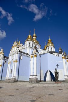 Free Saint Michael S Cathedral In Kiev, Royalty Free Stock Image - 16882926