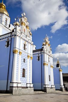 Free Saint Michael S Cathedral In Kiev, Stock Photography - 16882932