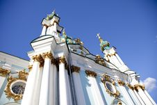Free St. Andrew S Cathedral In Kiev Royalty Free Stock Photo - 16882935
