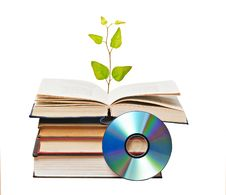 Free Tree Growing From Open Book Royalty Free Stock Photos - 16882958