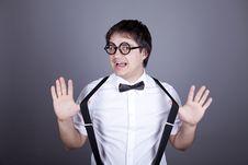 Free Funny Fashion Men In Suspender Stock Photo - 16883080