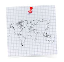 Free Note Pad Royalty Free Stock Images - 16883349