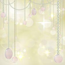 Free Beautiful Hanging Beads On Festive Background Stock Photo - 16883910