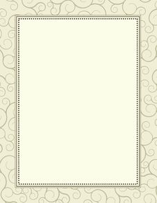 Invitation Template / Background
