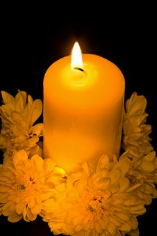 Free The Candle Royalty Free Stock Images - 16884959