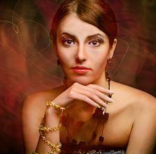 Free Beauty Woman Portrait Stock Image - 16885731