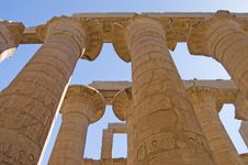 Free Columns At Karnak Temple Royalty Free Stock Photo - 16885795
