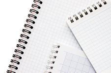 Free Blank Spiral Bound Notepad Stock Images - 16886004