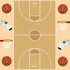 Free Basketball Card Royalty Free Stock Photography - 16887087
