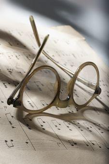 Free Glasses Royalty Free Stock Image - 16888716