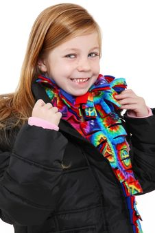 Free Winter Girl Stock Image - 16888971