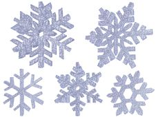 Free Ice Snowflakes Stock Photo - 16889200