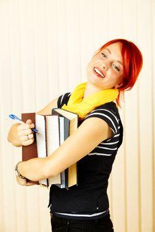Free College Girl Stock Photos - 16889633