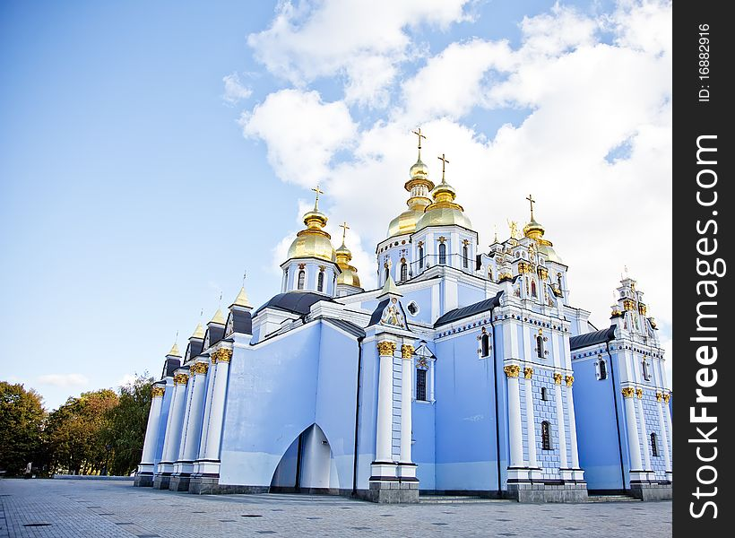 Saint Michael s cathedral in Kiev,