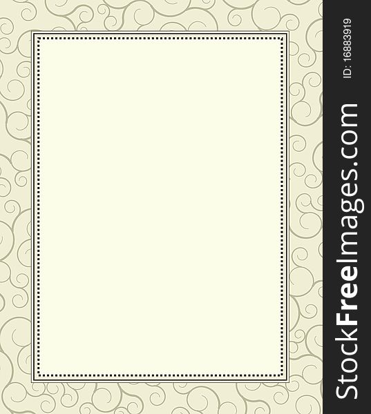 Invitation Template Background