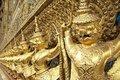 Free Golden Garuda Statue Royalty Free Stock Photo - 16891615
