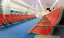 Free Lounge At The Airport Royalty Free Stock Image - 16890176