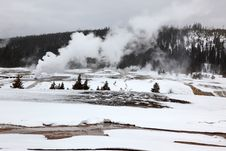 Free Hot Geysers In Yellowstone NP Stock Photo - 16890760