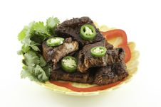 Free Mexican Beef Short Ribs Barbecue Royalty Free Stock Photo - 16890875