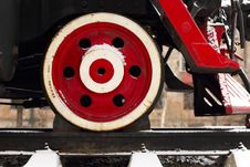 Free Locomotive Wheel Royalty Free Stock Photo - 16890895