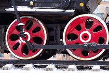 Free Locomotive Wheel Royalty Free Stock Photo - 16890945